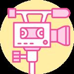 caméra pour filmer des courts-métrages